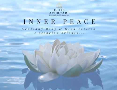 INNER PEACE – nevšedný zážitok s esenciou orientu